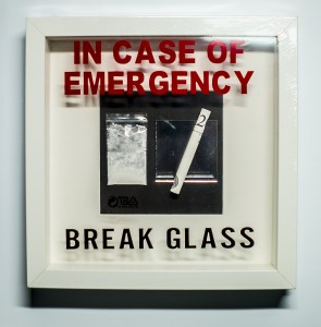"Ramka IN CASE OF EMERGENCY ""YEYO"""